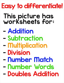 Earth Day Math Color by Code Superhero Owl Recycles - Earth Day Activities