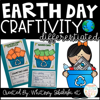 Earth Day Math Craft-Differentiated
