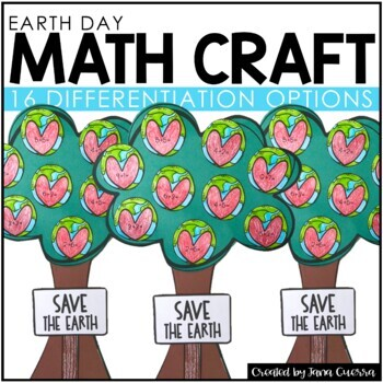 Earth Day Math Crafts *NEW* | Earth Day Activity