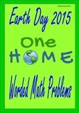 Earth Day Math Decimal Word Problems