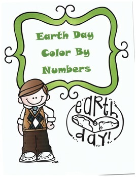 Earth Day Math Division Color By Numbers