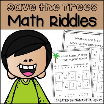 Earth Day Math Riddles