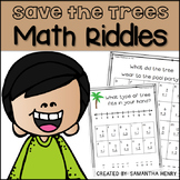 Earth Day Math Riddles