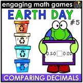Earth Day Math Game - Comparing Decimals Math Activity