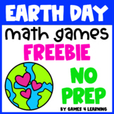 Earth Day Activity: Earth Day Math Games Freebie
