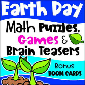 Earth Day Activities Earth Day Math Games Earth Day Math