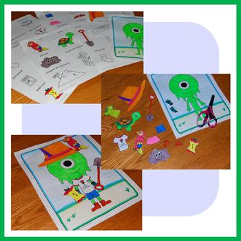 Earth Day Math Goofy Glyph (1st grade Common Core)