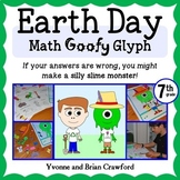 Earth Day Math Goofy Glyph (7th grade Common Core)