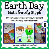 Earth Day Math Goofy Glyph (Kindergarten Common Core)