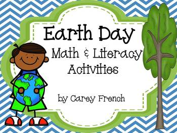 Earth Day Math & Literacy Activities Common Core Aligned