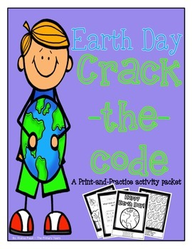 Earth Day Math & Literacy Packet - Print & Practice