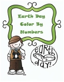 Earth Day Math Multiplication Color By Numbers