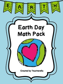 Earth Day Math Pack