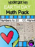 Earth Day Math Pack for Kindergarten