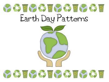Earth Day Math - Patterns