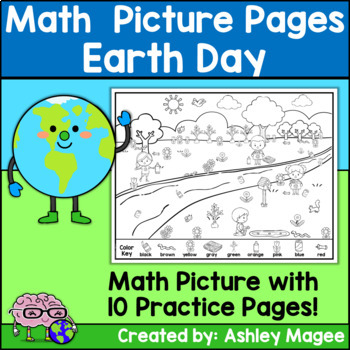 Earth Day Math Picture Pages