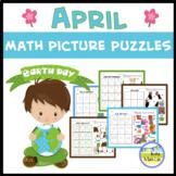 April Math Picture Puzzles