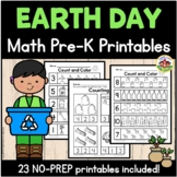 Earth Day Math Preschool Printables