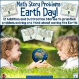 Math Story Problems   Earth Day