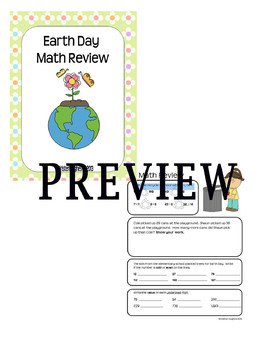 Earth Day Math Review