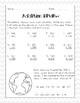 Earth Day Math Review Fun