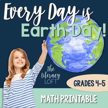 Earth Day Math {FREE}