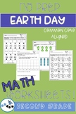 Earth Day Math Worksheets Second Grade: Common Core Aligne