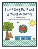 Earth Day Math and ELA Literacy Activities