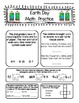 Earth Day Math and ELA morning work pack aligned with comm