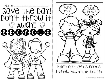 Earth Day Math and Literacy Activities