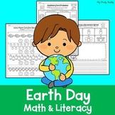 Earth Day Activities (Kindergarten Math & Literacy)