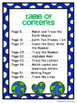 Earth Day Math and Literacy Pack for Pre-K, Preschool, and Kindergarten