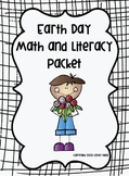 Earth Day Math and Literacy Packet for K & 1