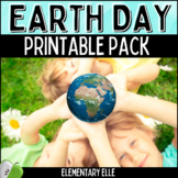 Earth Day Math and Literacy Printable Pack
