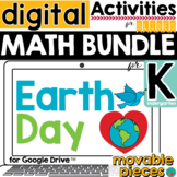Earth Day Math for Google Slides ™ for Kindergarten  DISTA