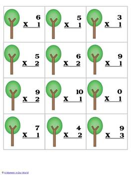 Earth Day Maths Freebie