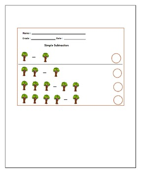 Earth Day Maths Worksheets & Task Cards : ( Plant more Trees )