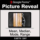 Earth Day: Mean, Median, Mode, Range - Google Forms Math  