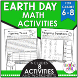 Earth Day Math Activities Middle School