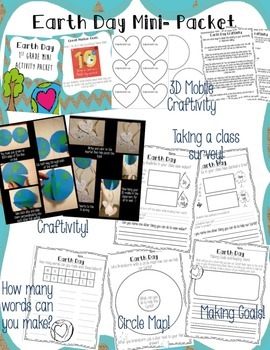 Earth Day Activities and Craftivity