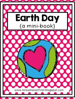 First Grade Mini-Book: Earth Day
