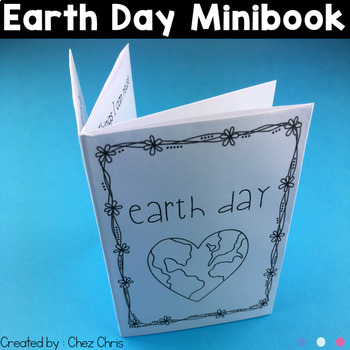Earth Day MiniBook - April activity