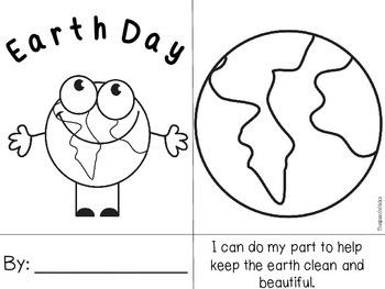 Earth Day Mini Book Freebie