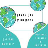 Earth Day Mini Book Letter Writing Science ELA No Prep