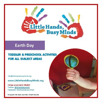 Earth Day- Mini Thematic Unit for Toddlers/Pre-K