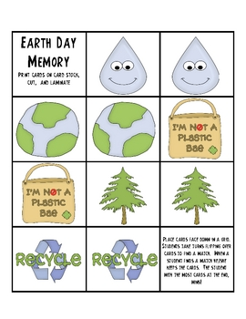 Earth Day Mini Unit - Activities and Games