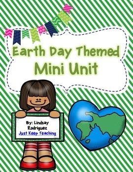 Earth Day Mini Unit- Huge, Lesson Plans, Color and Blackline, Rubrics