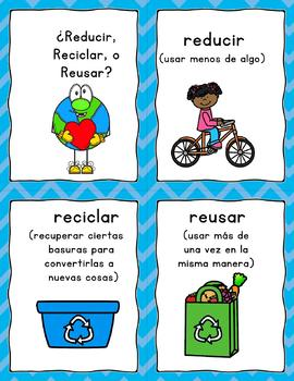 Earth Day Mini Unit (Spanish)