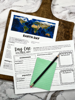 Earth Day: A Nonfiction Mini-Unit with Close Reading Practices