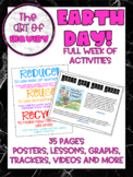 Earth Day Mini Unit {lessons, graphs, tracking sheets, posters}